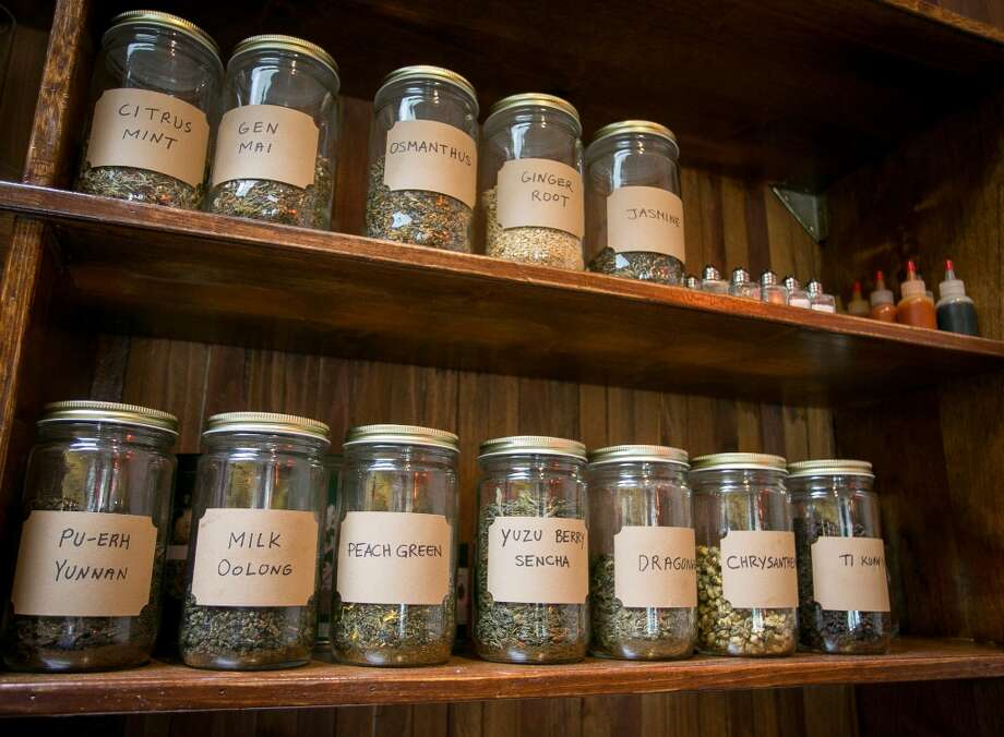 The interior of Osmanthus in Oakland. Photo: John Storey, Special To The Chronicle