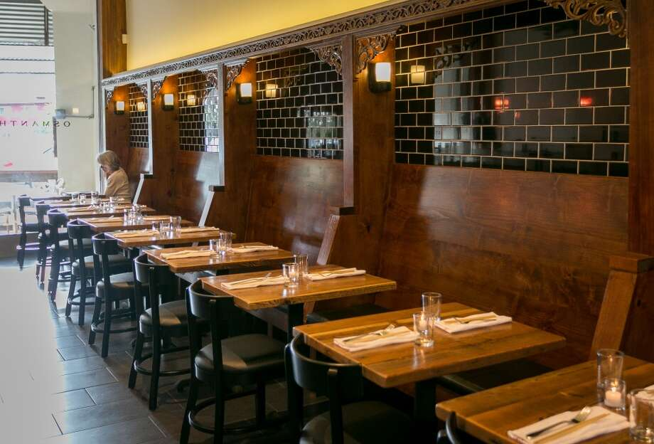 The interior of Osmanthus in Oakland.. Photo: John Storey, Special To The Chronicle