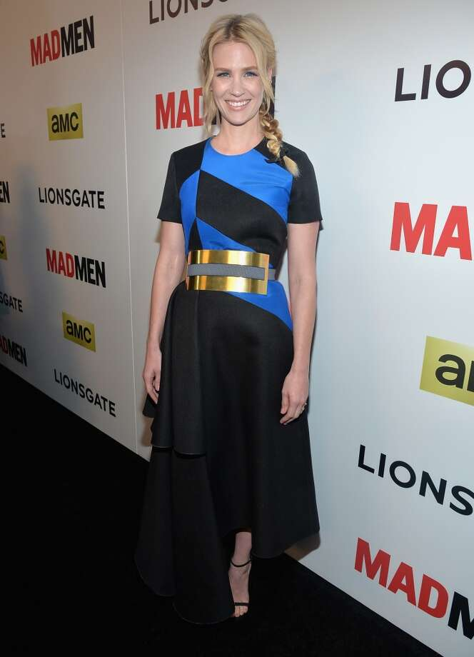 Actress January Jones attends the AMC celebration of the 'Mad Men' season 7 premiere at ArcLight Cinemas on April 2, 2014 in Hollywood, California. Photo: Alberto E. Rodriguez, Getty Images