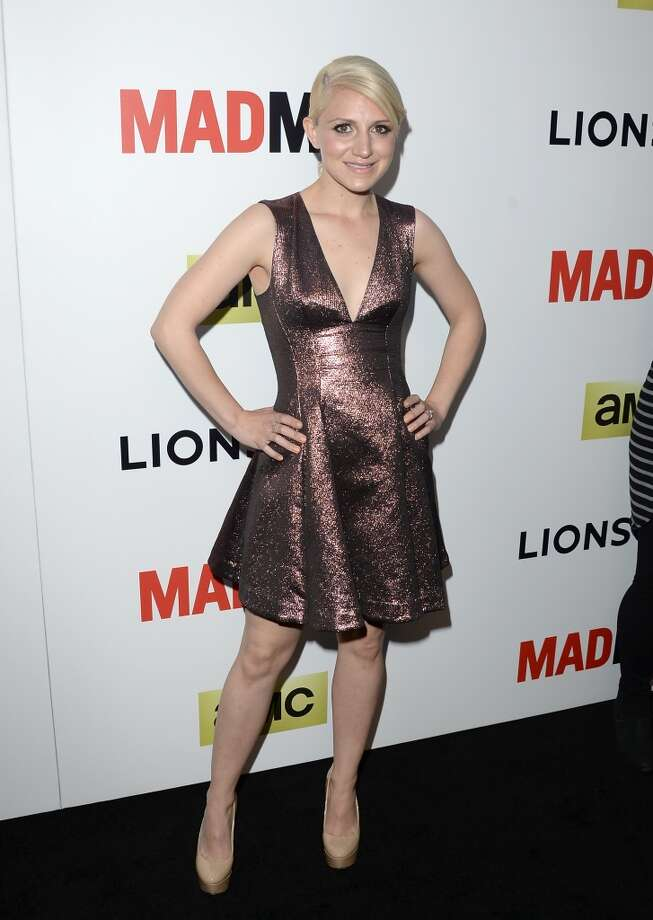 Actress Annaleigh Ashford attends the AMC celebration of the 'Mad Men' season 7 premiere at ArcLight Cinemas on April 2, 2014 in Hollywood, California. Photo: Jason Merritt, Getty Images