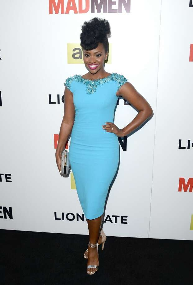 Actress Teyonah Parris  attends the AMC celebration of the 'Mad Men' season 7 premiere at ArcLight Cinemas on April 2, 2014 in Hollywood, California. Photo: Jason Merritt, Getty Images