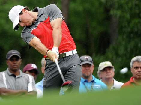 Rory McIlroy drives on No. 6 during the first round of the Shell Houston Open, Thursday, April 3, 2014, at the Golf Club of Houston in Humble. Photo: Eric Christian Smith, For The Chronicle