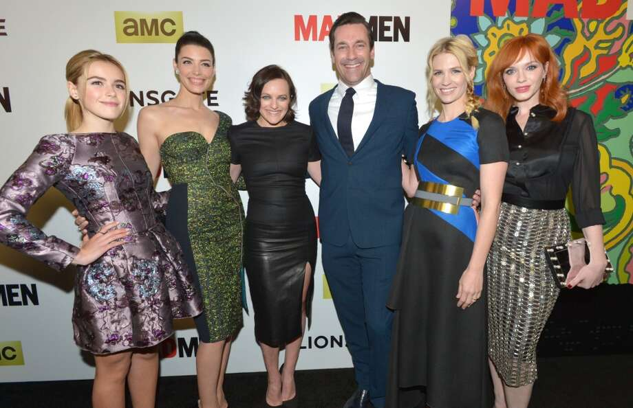 "The cast of ""Mad Men"" on April 2, 2014.  Photo: John Shearer, Associated Press"