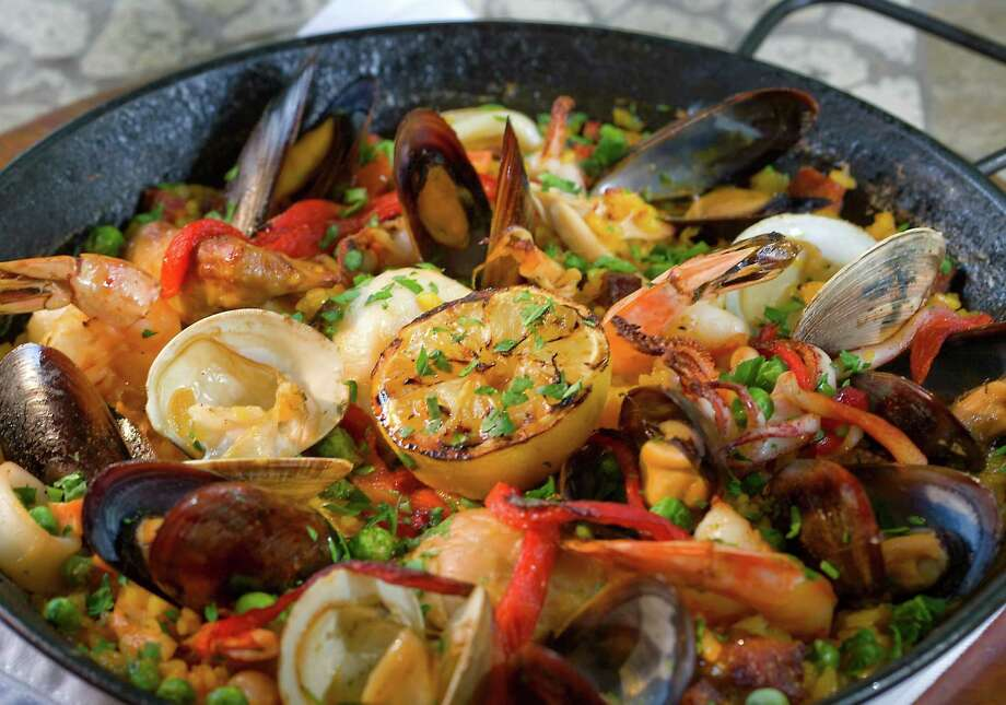 Las Ramblas' menu will include paella Valencia on Easter. Photo: Sonheim Photography