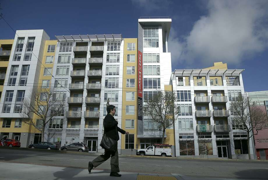 Condominiums in S.F. are often priced too high for moderate-income families. Photo: Jeff Chiu, Associated Press