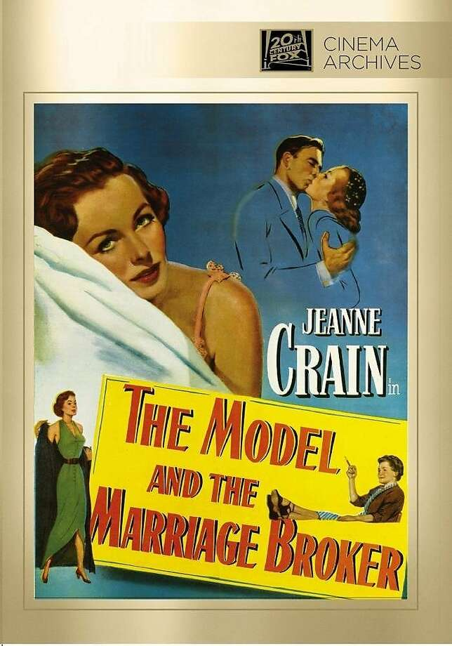 """dvd cover """"The Model and the Marriage Broker"""" Photo: 20th Century Fox"""