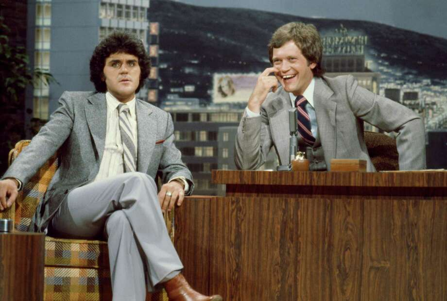 Comedian Jay Leno during an interview with guest host David Letterman on The Tonight Show on July 4, 1979. Photo: NBC, NBC Via Getty Images / 2012 NBCUniversal, Inc.