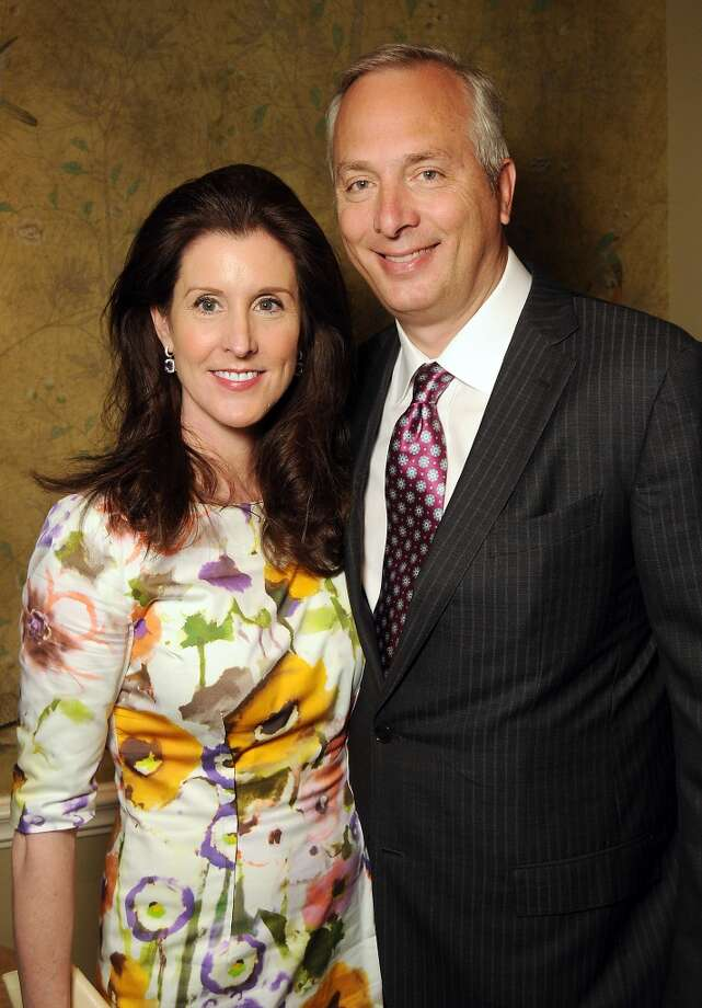 Co-chairs Phoebe and Bobby Tudor Photo: Dave Rossman, For The Houston Chronicle