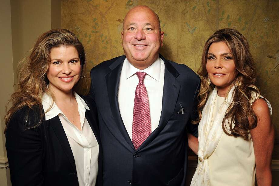 From left: I Am Waters founder Elena Davis with co-chairs Mark and Debra Grierson Photo: Dave Rossman, For The Houston Chronicle