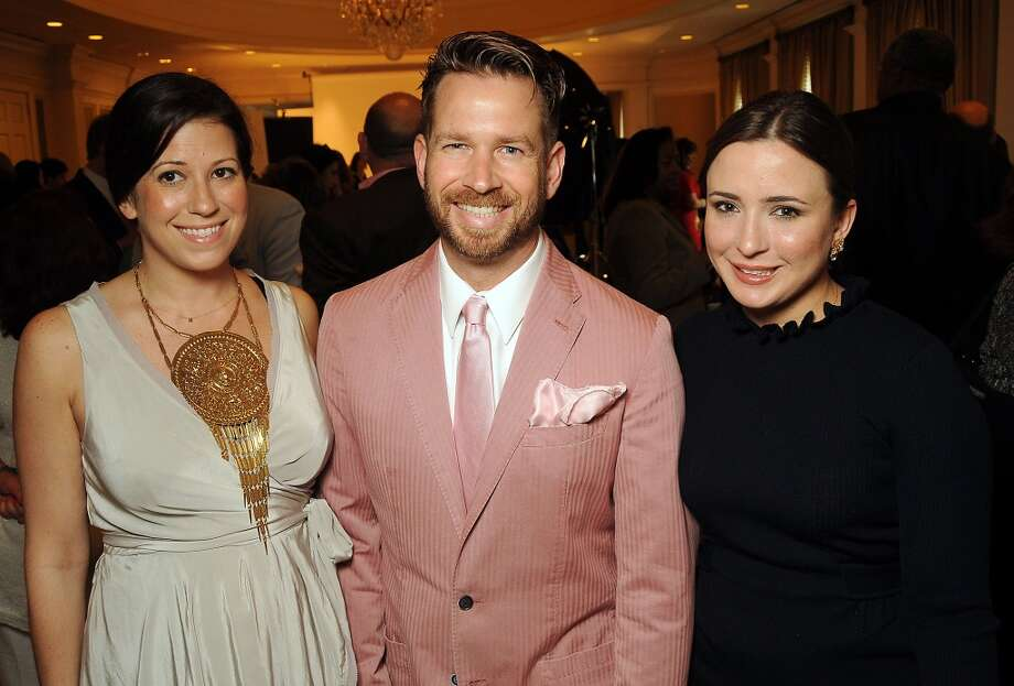 From left; Ally Shell, Jeff Shell and Michelle Reyna Photo: Dave Rossman, For The Houston Chronicle