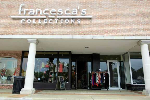 Francesca's, which has a location at at 6514 Woodway Drive, saw apparel and gift sales rise in its latest quarter, but a fall in jewelry sales hurt its earnings.