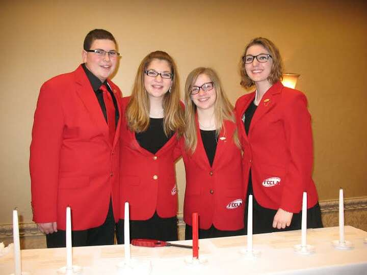 Four local students are New York State officers for Family Career Community Leaders of America, a na