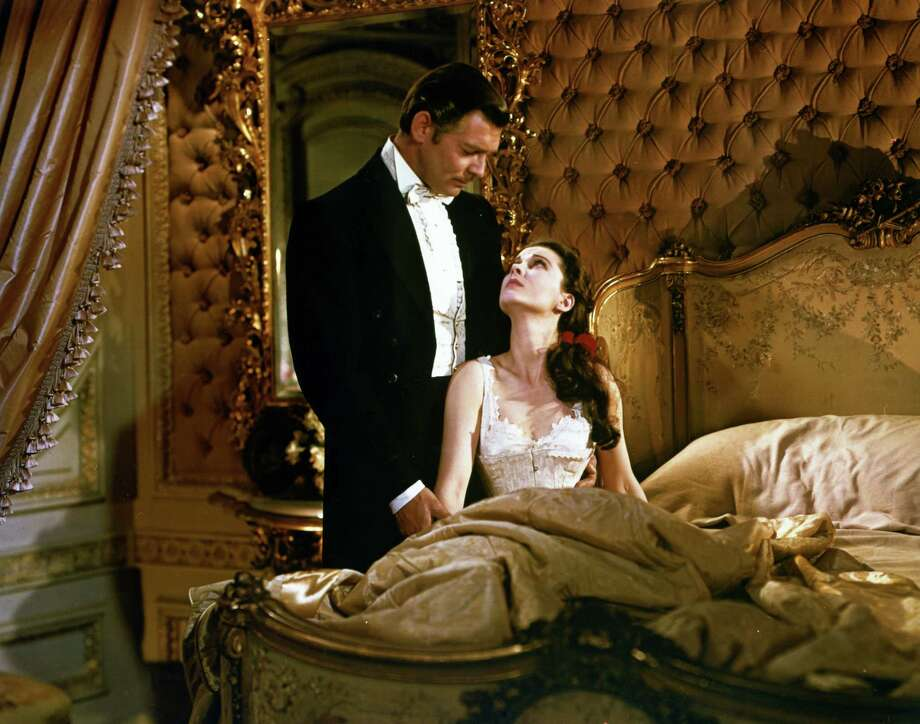 Actors Clark Gable (1901 - 1960) and Vivien Leigh(1913 - 1967)as Rhett Butler and Scarlett O'Hara in the film 'Gone with the Wind', 1939. (Photo by Silver Screen Collection/Archive Photos/Getty Images) Photo: Silver Screen Collection / 2010 Getty Images