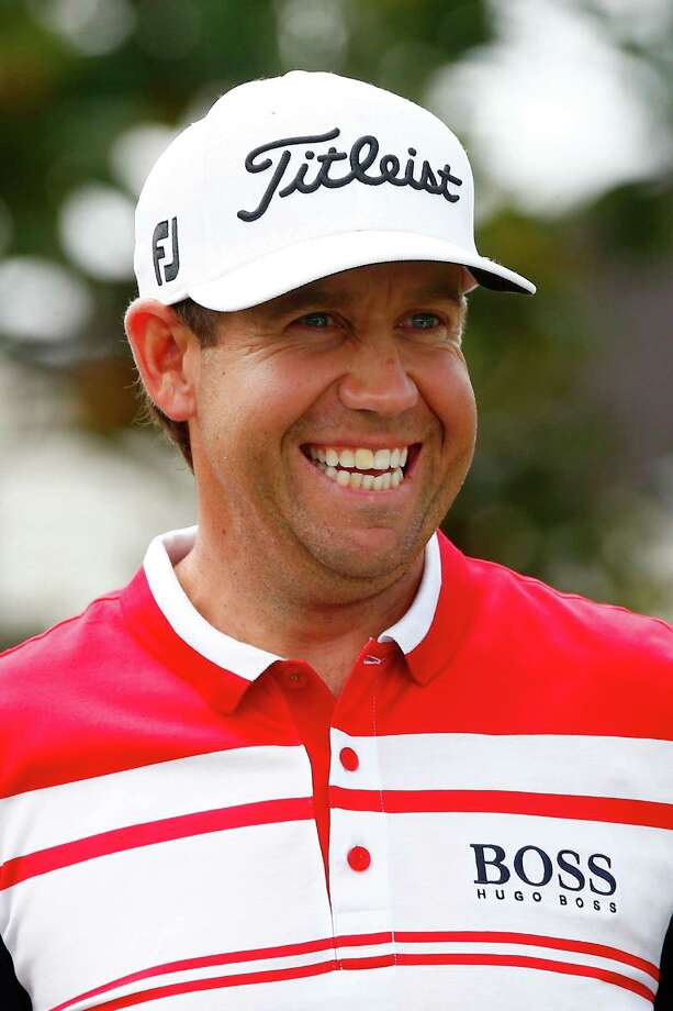 ORLANDO, FL - MARCH 23: Erik Compton of the United States smiles on the first tee during the final round of the Arnold Palmer Invitational presented by MasterCard at the Bay Hill Club and Lodge on March 23, 2014 in Orlando, Florida.  (Photo by Sam Greenwood/Getty Images) Photo: Sam Greenwood, Staff / 2014 Getty Images