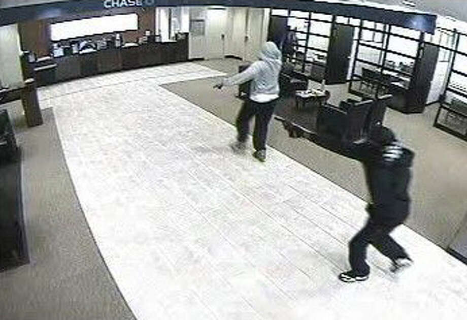 Surveillance image from the robbery. Photo: Fort Bend County Sheriff's Office