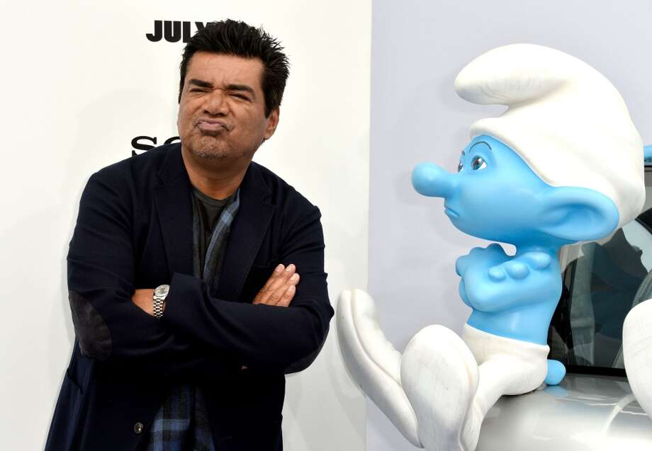 Lopez has several voice acting gigs on his resume, including the first and second Smurfs movies ... Photo: Frazer Harrison, Getty Images