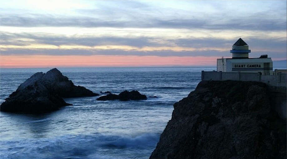 Danny K., or @dannybeck15, snapped this gorgeous shot from Sutro Baths as the sun set.