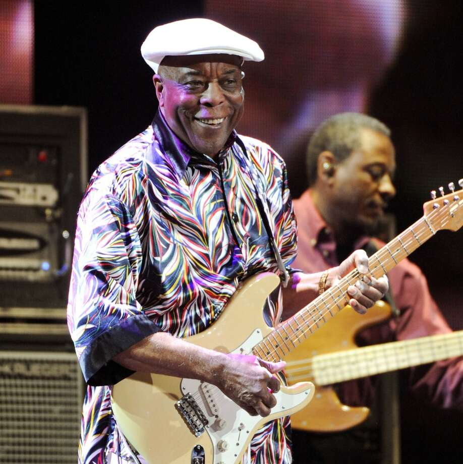 Buddy Guy is slated to perform at the Greenwich Town Party on May 24, 2014. Photo: Evan Agostini, Associated Press
