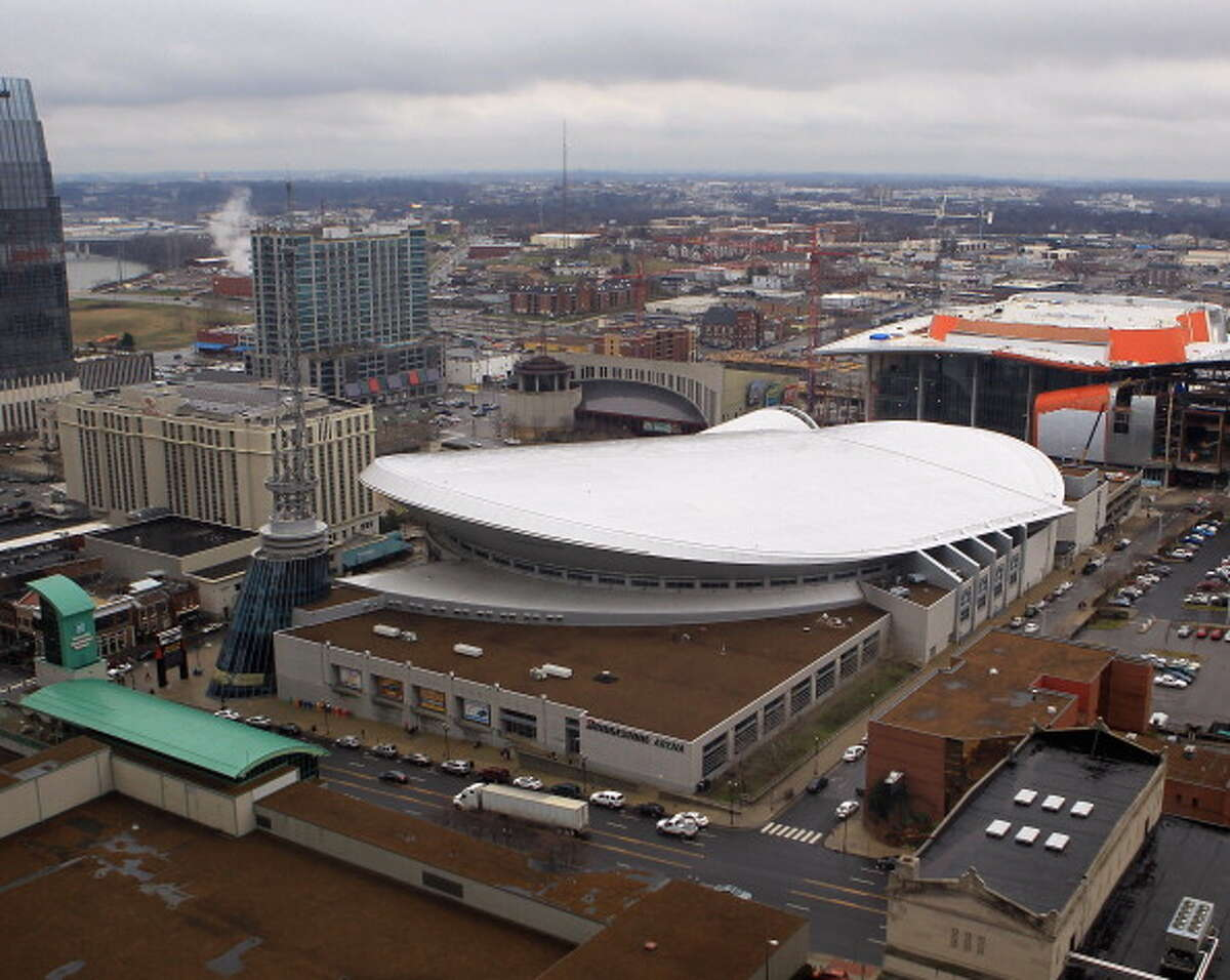 Nashville, Tennessee: 99 percent