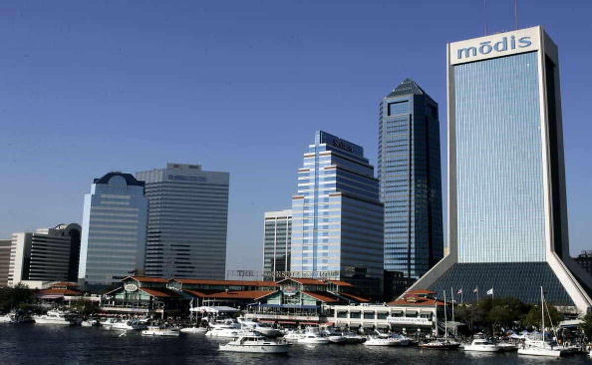 No. 9: Jacksonville, FL - Increase In No. Of College Grads, 2007-12: 36,986Percentage Gain: 14.3%