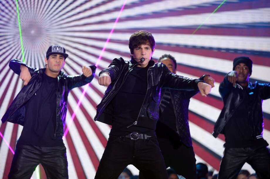 At just 18 years old, singer/songwriter Austin Mahone is making his 