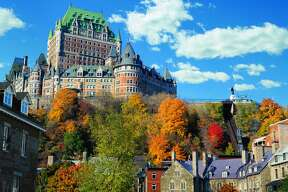 The Fairmont Le Chateau Frontenac  was built in the late 19th century as a stop for Canadian Pacific Railways travelers. The architect was Bruce Price, father of Emily Post.