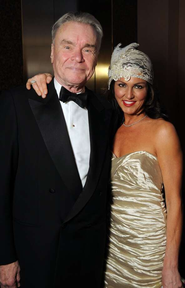 Gordon Bethune and Jessica Rossman at the SPA's Forever Paris Gala at the Wortham Theater Saturday March 29, 2014.(Dave Rossman photo) Photo: Dave Rossman, For The Houston Chronicle