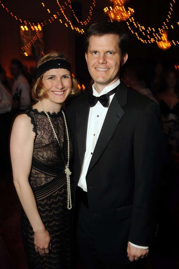 Kelly and Daniel Booth at the SPA's Forever Paris Gala at the Wortham Theater Saturday March 29, 2014.(Dave Rossman photo) Photo: Dave Rossman, For The Houston Chronicle