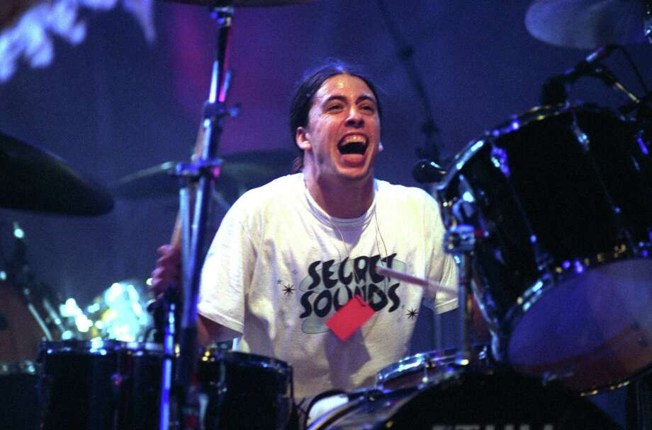 Dave Grohl of Nirvana in an undated photo. Photo: Jeff Kravitz, Getty / FilmMagic, Inc