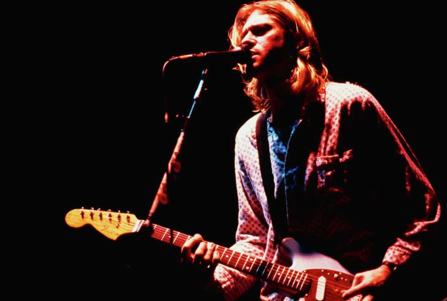 Nirvana at the Roseland Ballroom, New York City, 1Nov. 15, 1993. Photo: Ebet Roberts, Getty / 2013 Ebet Roberts