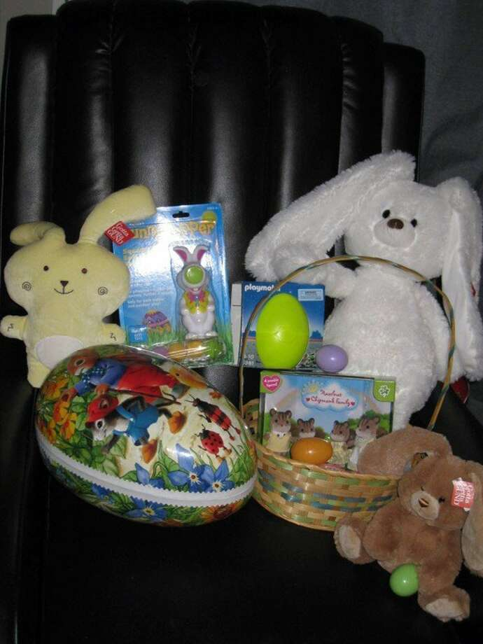 What's an Easter basket without a few stuffed animals? Most young kids love something soft to snuggle up with, and Easter is a great excuse to give them cuddly toys. (MCT) ORG XMIT: 1151218 Photo: HANDOUT / MCT