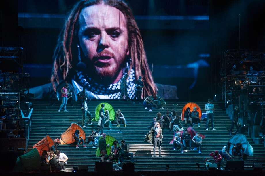A scene from Jesus Christ Superstar by Andrew Lloyd Webber and Tim Rice @ O2 Arena, London. Photo: Duncan Barnes