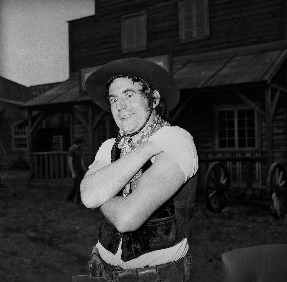 "1971: British actor Terry Jones on the set for ""Monty Python's Flying Circus."" Photo: Imagno, Getty Images"