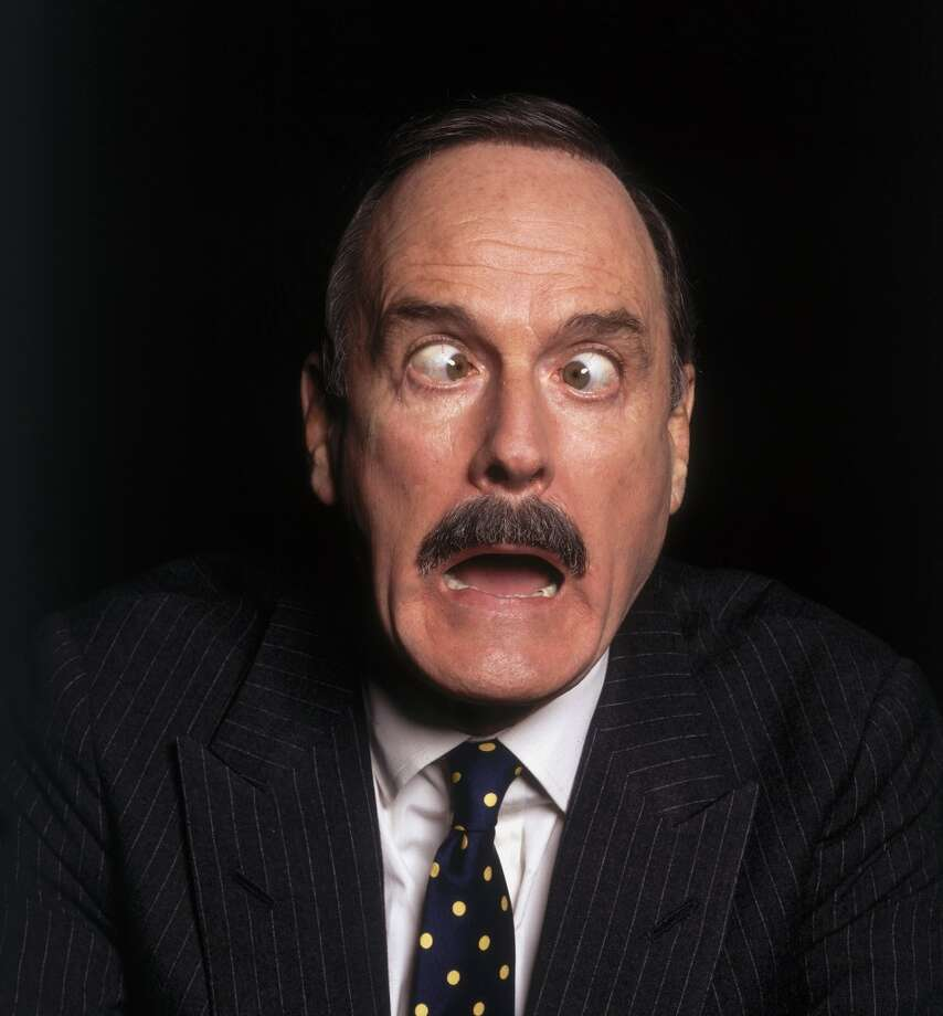 1987: British comic John Cleese. Photo: Terry O'Neill, Getty Images