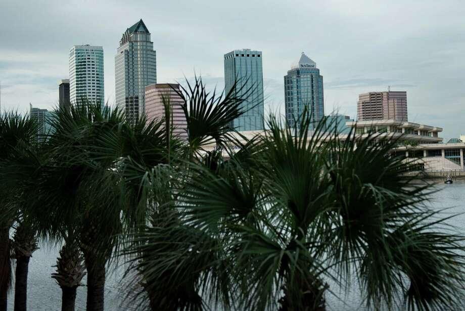 15 (tie). Tampa, down 0.1 percent. Photo: BRENDAN SMIALOWSKI / 2012 Brendan Smialowski