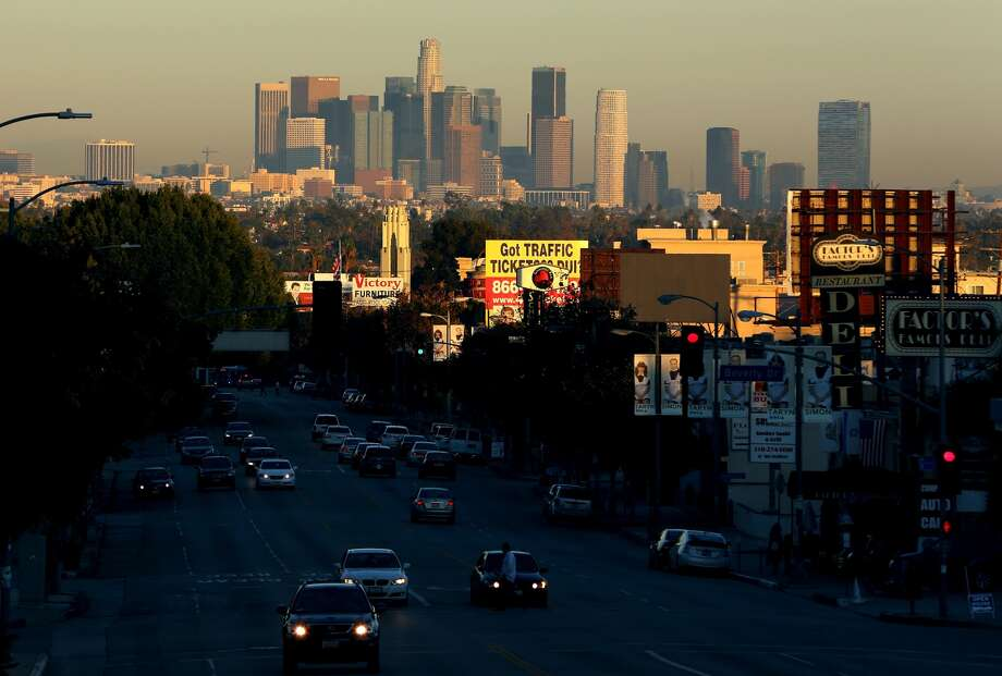 10 (tie). Los Angeles, up 0.5 percent. Photo: Victor Decolongon, Getty