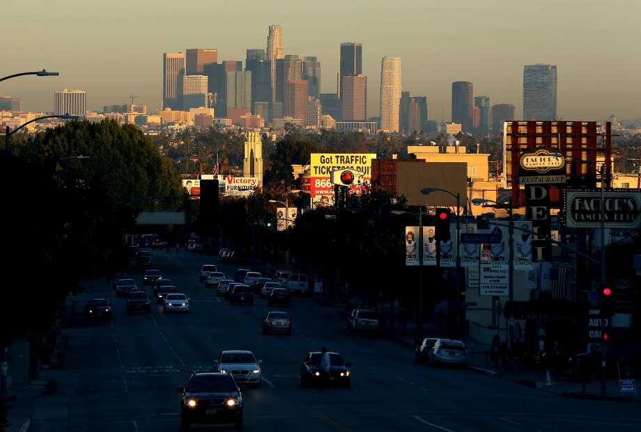 10 (tie). Los Angeles, up 0.5 percent. Photo: Victor Decolongon, Getty