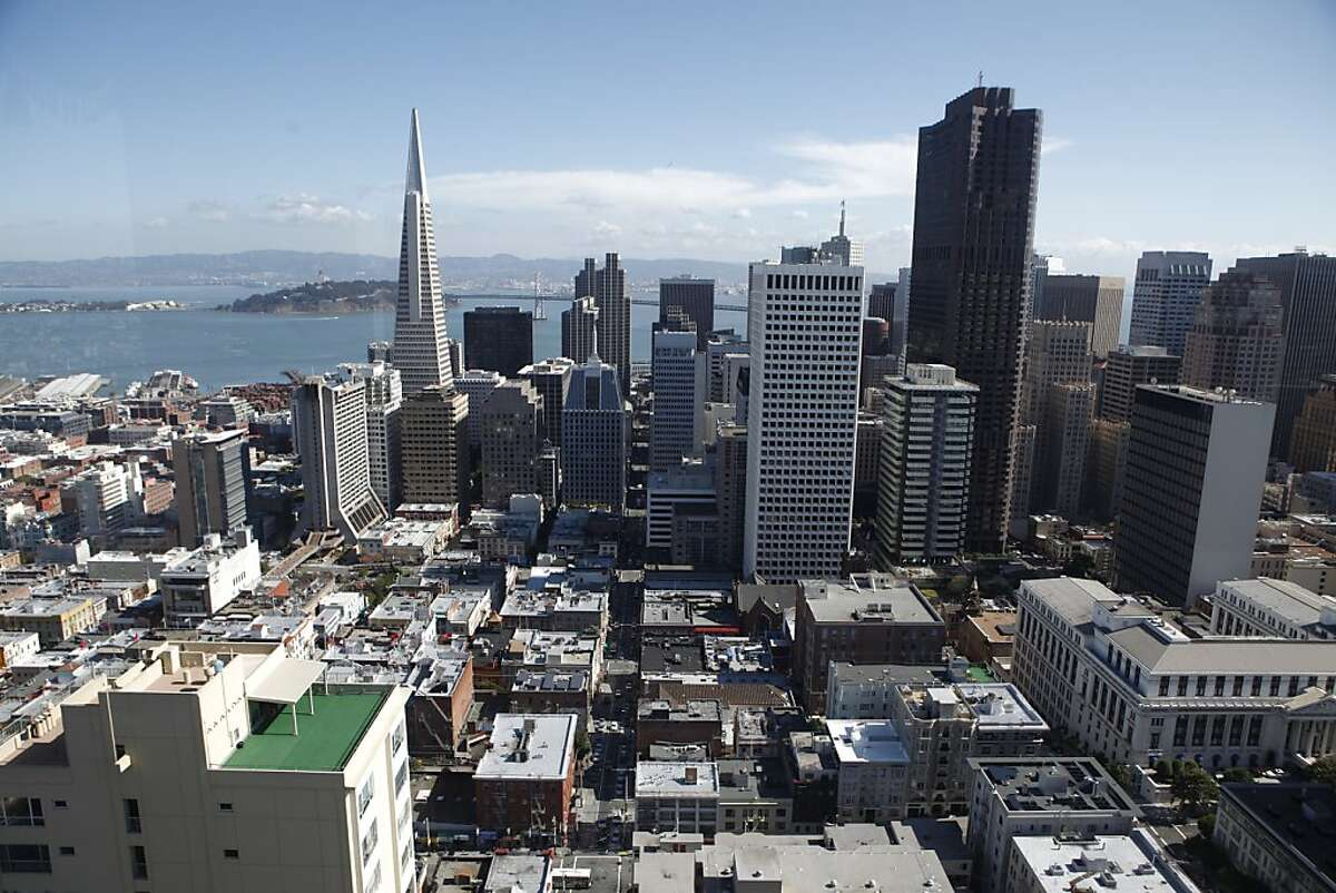 City: San Francisco, Calif.Rank: 9Tallest building: Transamerica Pyramid (853 feet)