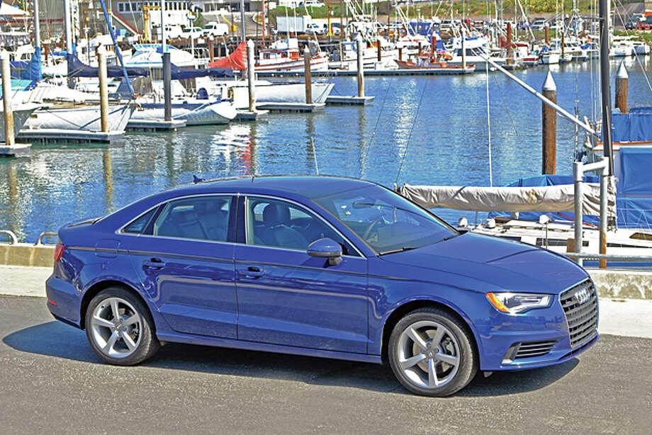 2015 Audi A3 quattro (photo courtesy Audi) / copyright: Dan Lyons - 2014