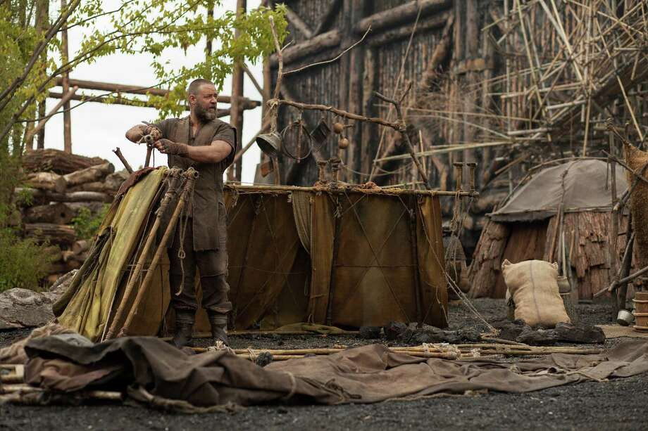 "This image released by Paramount Pictures shows Russell Crowe in a scene from ""Noah."" (AP Photo/Paramount Pictures, Niko Tavernise) Photo: Niko Tavernise, Associated Press / Associated Press"