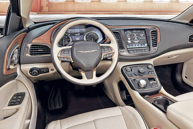 Midsize Refined 2015 Chrysler 200 Times Union