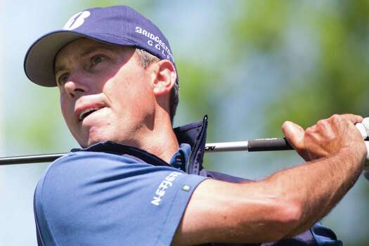 Matt Kuchar tees off on 4th hole during the round two of the Shell Houston Open at the Golf Club of Houston, Friday, April 4, 2014, in Humble. Photo: Marie D. De Jesus, Houston Chronicle / © 2014 Houston Chronicle
