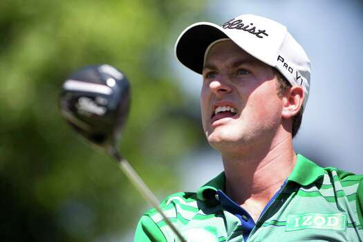 Webb Simpson watches his tee shot from the fourth hole  during the round two of the Shell Houston Open at the Golf Club of Houston, Friday, April 4, 2014, in Humble. Photo: Marie D. De Jesus, Houston Chronicle / © 2014 Houston Chronicle