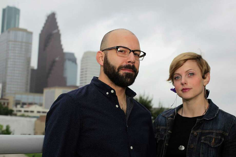 "Houston writer Lacy Johnson and her husband/creative partner, Josh Okun, have created a new online platform they call ""location-based storytelling."" Photo: James Nielsen, Staff / © 2014  Houston Chronicle"