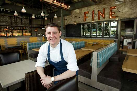 Executive chef Bryan Ogden presides over Bradley's Fine Diner in the Heights. Photo: Brett Coomer, Staff / © 2014 Houston Chronicle