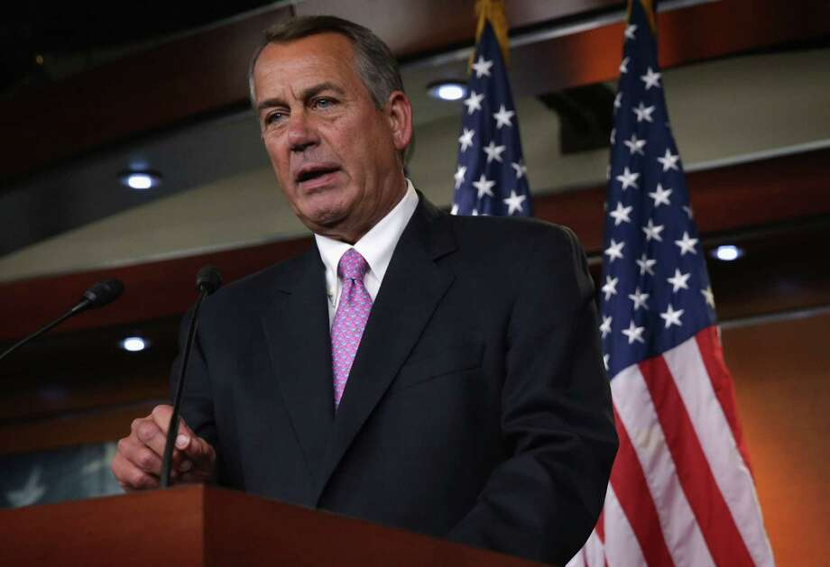 A reader says the tea party is losing its influence. Even staunch conservative House Speaker John Boehner has defied the tea party by helping to increase the debt ceiling. Photo: Alex Wong / Getty Images / 2014 Getty Images