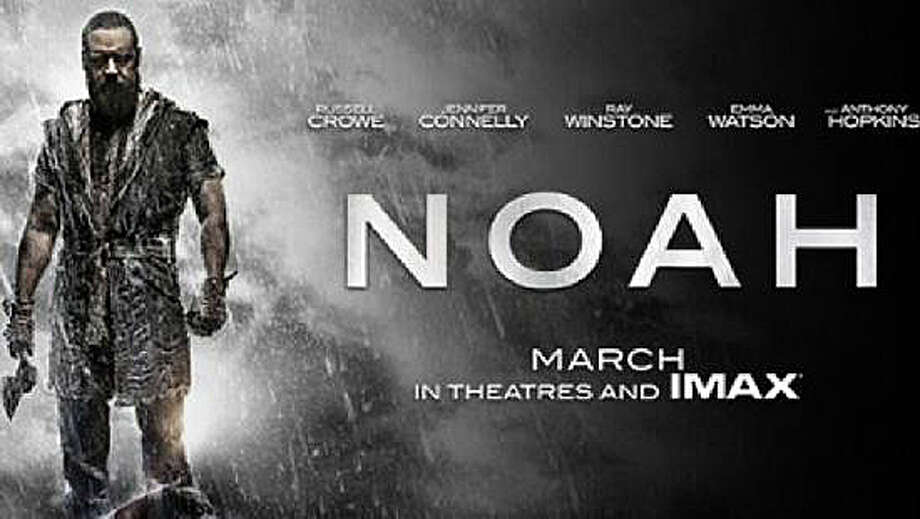 """Russell Crowe stars as """"Noah,"""" in the latest cinematic treatment of the great flood and related events from the Bible. Photo: Contributed Photo / Westport News"""