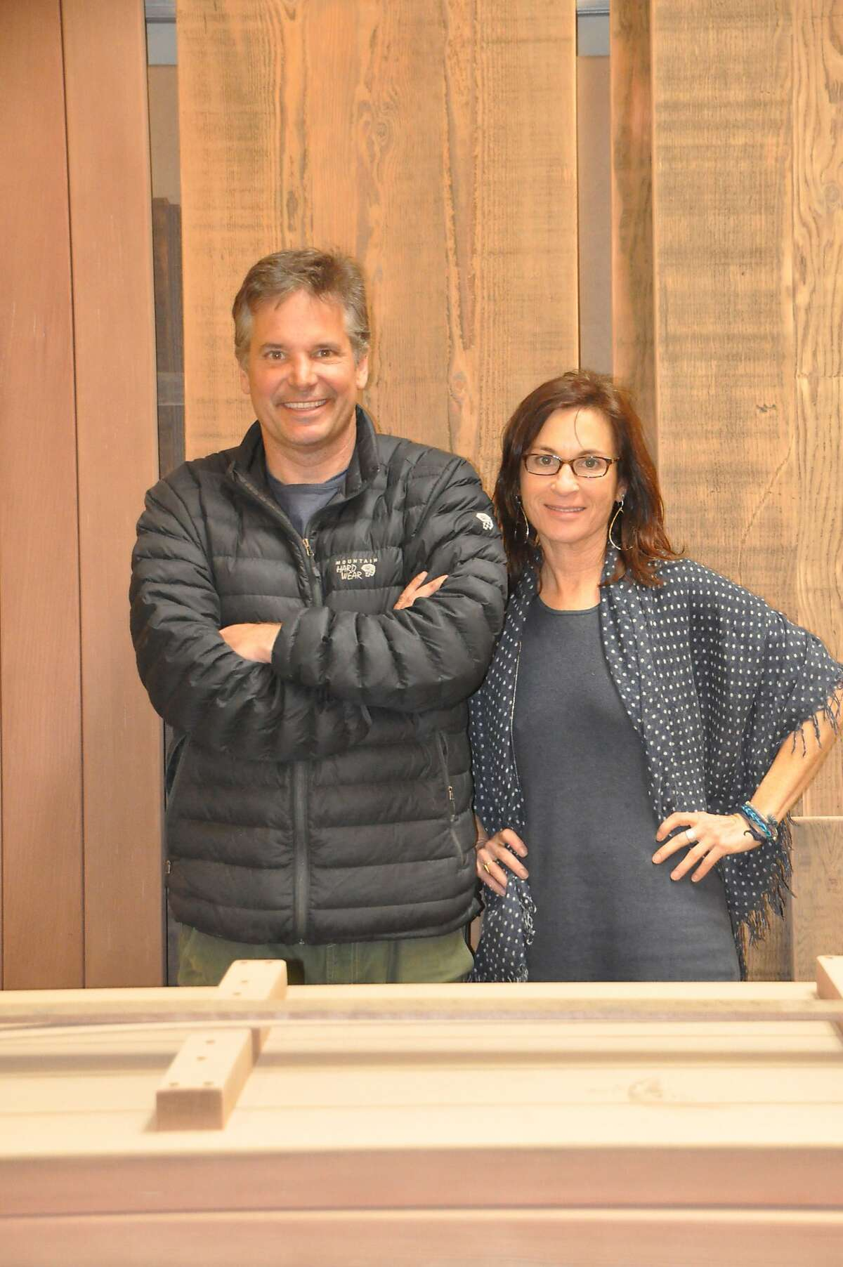 Eric Gellerman and Amy Ferber, owners of the Wooden Duck.