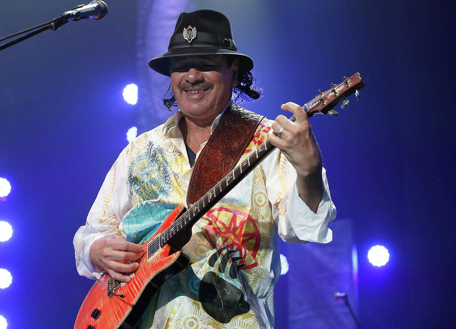 Carlos Santana performs live at the GrandWest Grand Arena on February 25, 2014 in Cape Town, South Africa. Photo: Michelly Rall/WireImage/Getty Im, WireImage / Getty Images