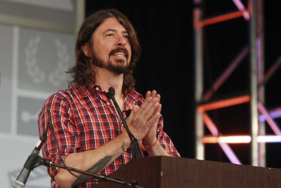 Dave Grohl gives the opening keynote during the SXSW Music Festival, on Thursday, March 14, 2013 in Austin, Texas. (Photo by Jack Plunkett/Invision/AP Images) Photo: Jack Plunkett, Associated Press